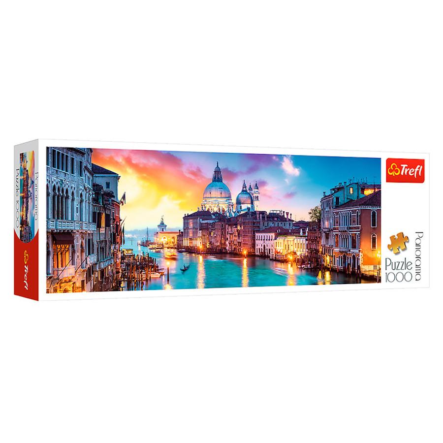 """TF Puzzle """"1000 - """"Panorama - CanalGrande, Venice"""""""