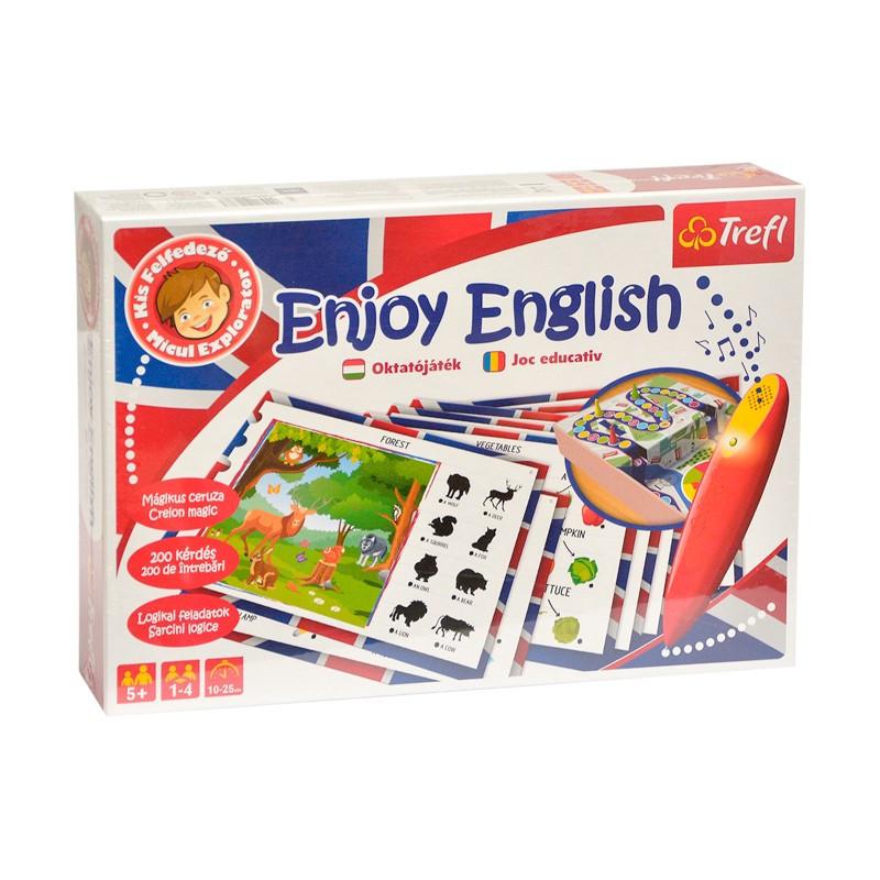 Joc de masa Invata engleza cu stilou electronic