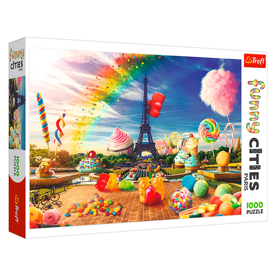 """TF Puzzle """"1000 Funny Cities"""" -Sweet Paris"""