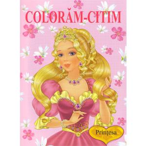 Prințesa. Colorăm-Citim