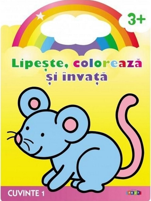 Lipește, Colorează și învață Albinuța Cuvinte 1