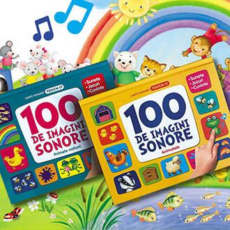 Colecția 100 de Imagini Sonore. Primele Noțiuni și Animalele