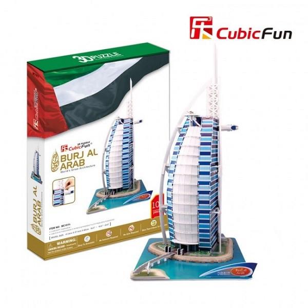 3D PUZZLE Burj Al Arab