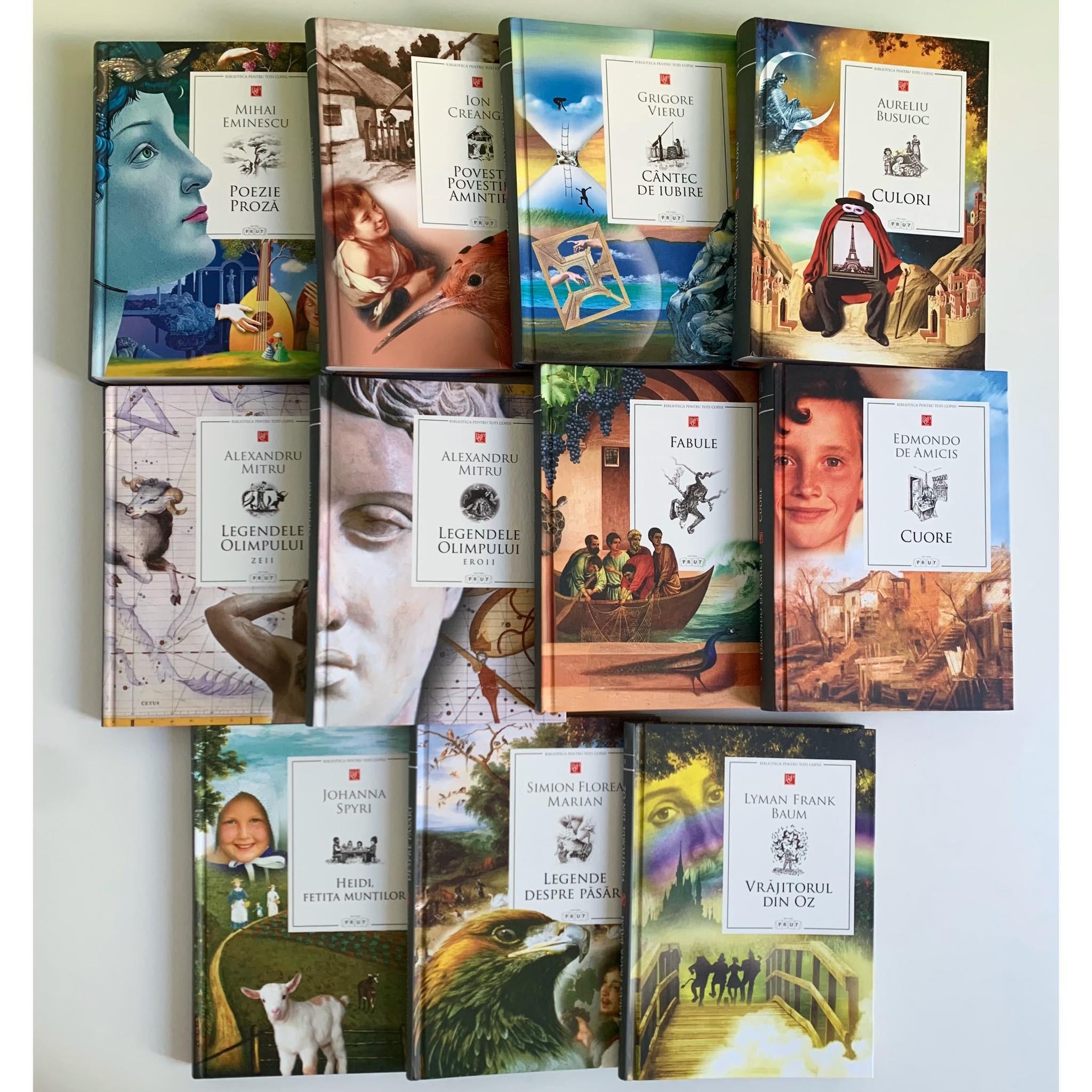 Pachet Promoțional cu 11 cărți din Biblioteca pentru toți copiii