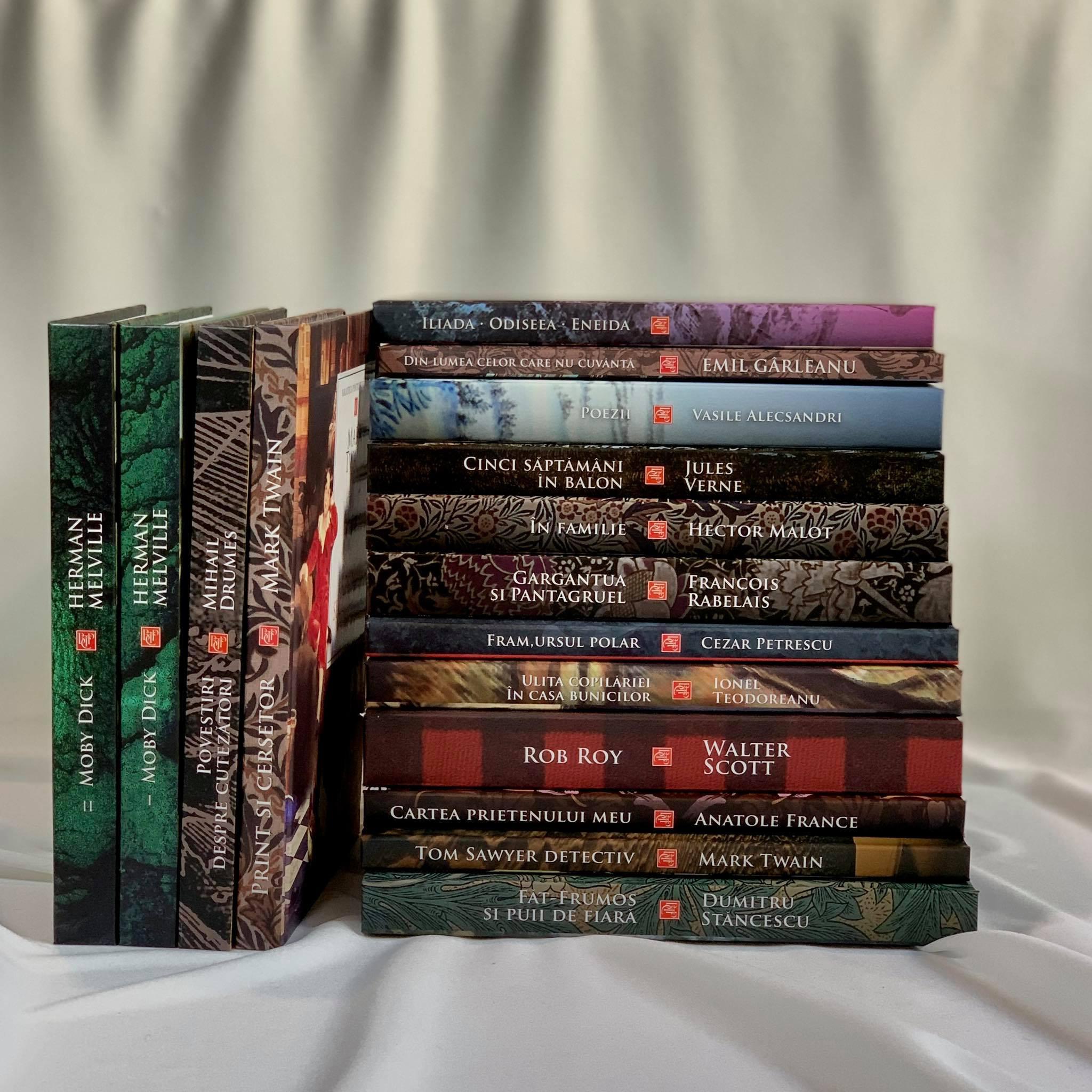 Pachet Promoțional cu 16 cărți din Programul Școlar