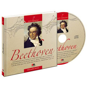 Ludwig van Beethoven, Mari compozitori, Vol. 7 [Carte + Audio CD]