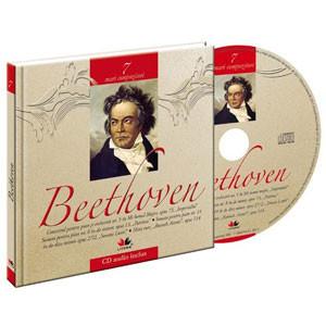 Ludwig van Beethoven, Mari compozitori, Vol. 7 [Carte + Audio CD]
