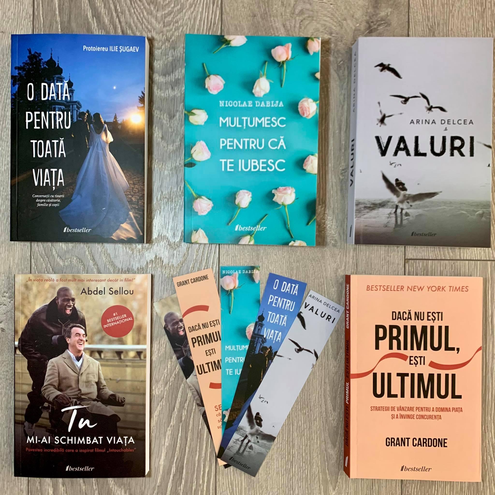 Pachet Bestseller Mixt: Setul de 5 cărți Bestseller