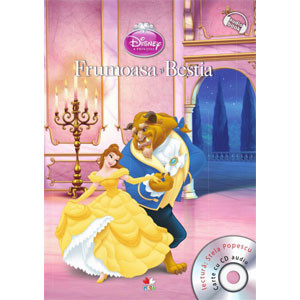 Disney. Frumoasa și Bestia. Carte + CD audio