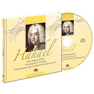 Georg Friedrich Handel, Mari compozitori, Vol. 17 [Carte + Audio CD]
