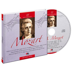 Wolfgang Amadeus Mozart, Mari compozitori, Vol. 18 [Carte + Audio CD]