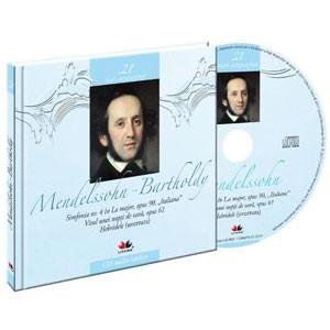 Felix Mendelssohn-Bartholdy, Mari compozitori, Vol. 21 [Carte + Audio CD]