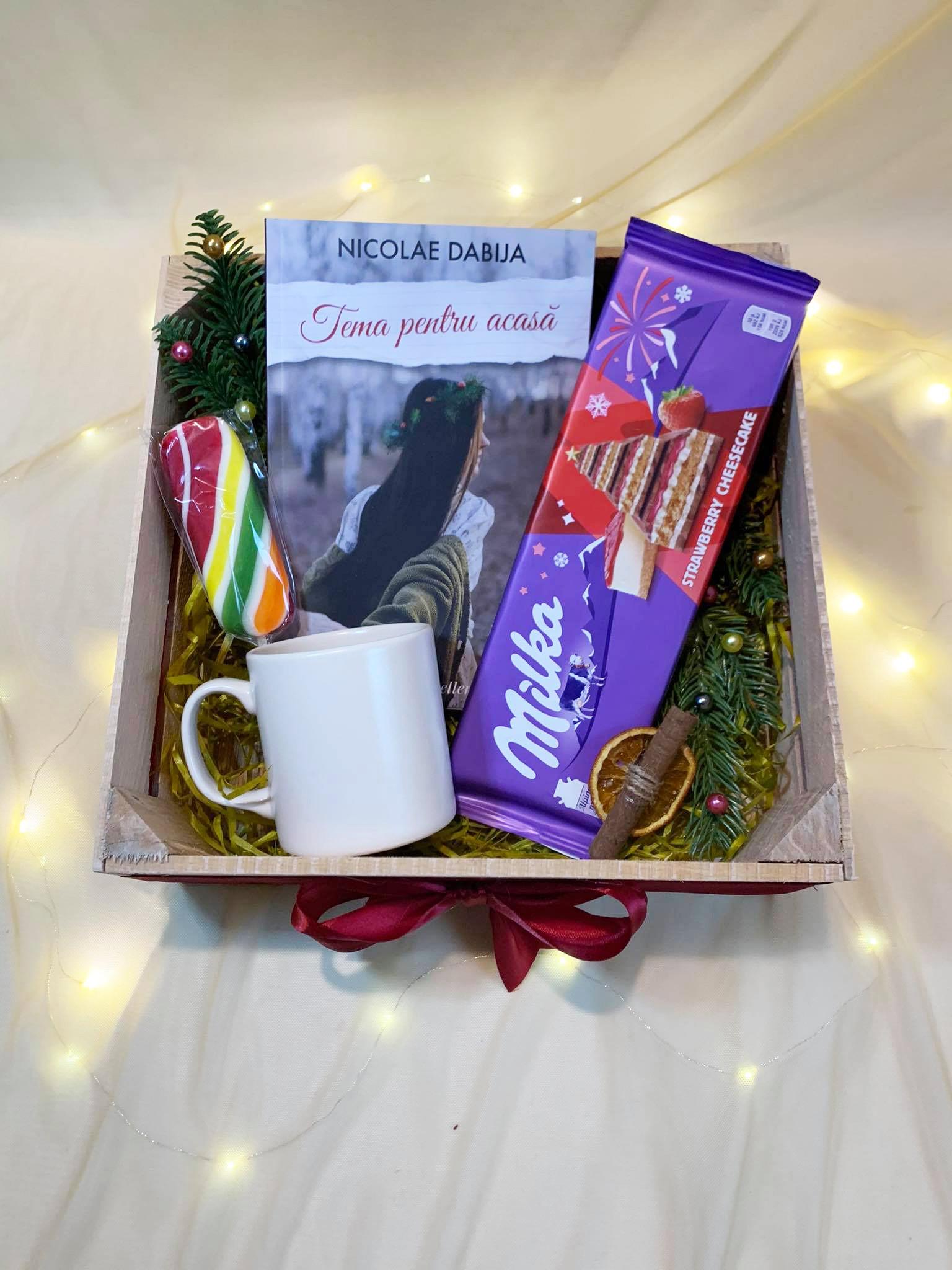"Bestseller Gift Box ""Tema pentru acasă"""