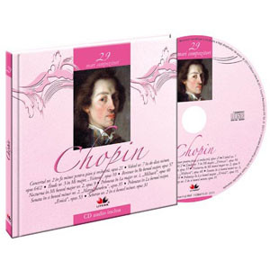 Frederic Chopin, Mari compozitori, Vol. 29 [Carte + Audio CD]