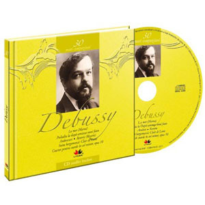 Claude Debussy, Mari compozitori, Vol. 30 [Carte + Audio CD]