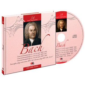 Johann Sebastian Bach, Mari compozitori, Vol. 34 [Carte + Audio CD]