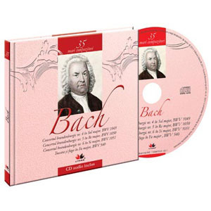 Johann Sebastian Bach, Mari compozitori, Vol. 35 [Carte + Audio CD]