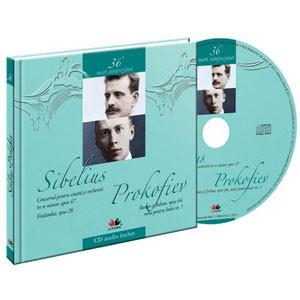 Jean Sibelius, Serghei Prokofiev, Mari compozitori, Vol. 36 [Carte + Audio CD]