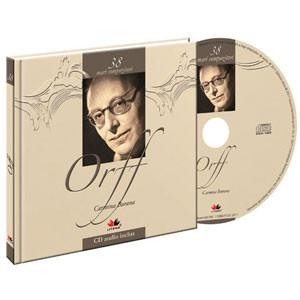 Carl Orff, Mari compozitori, Vol. 38 [Carte + Audio CD]