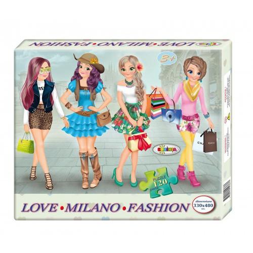 Puzzle Milano Fashion 120ps