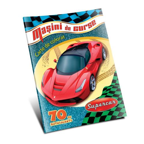 Mașini de curse +  Autocolante