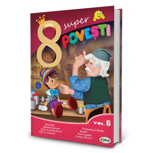 8 Super Povești, vol. 6 Pinocchio