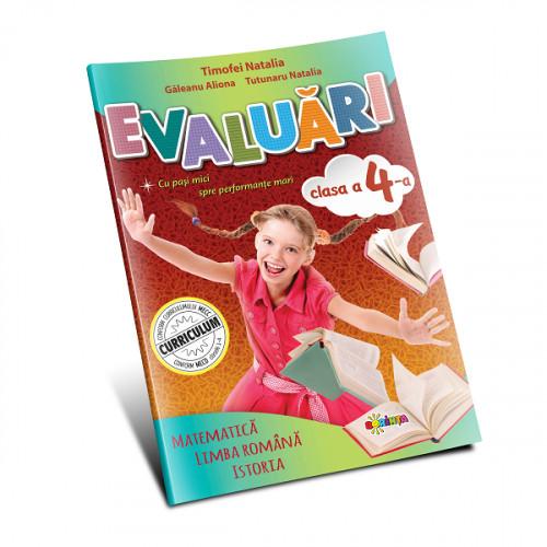 Evaluări: Matematică și Limba Română cl.4