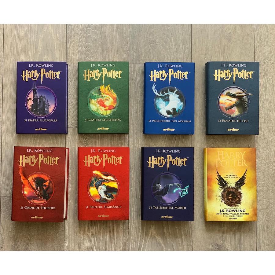 Colecția completă Harry Potter  (8 volume)