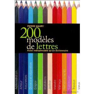 200 Modèles de lettres