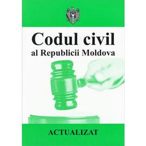 Codul Civil al Republicii Moldova. Actualizat 06.09.2013
