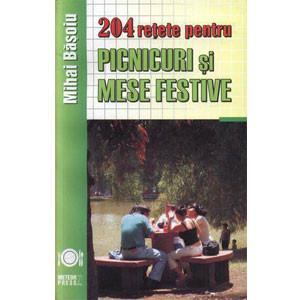 204 Rețete pentru Picnicuri și Mese Festive