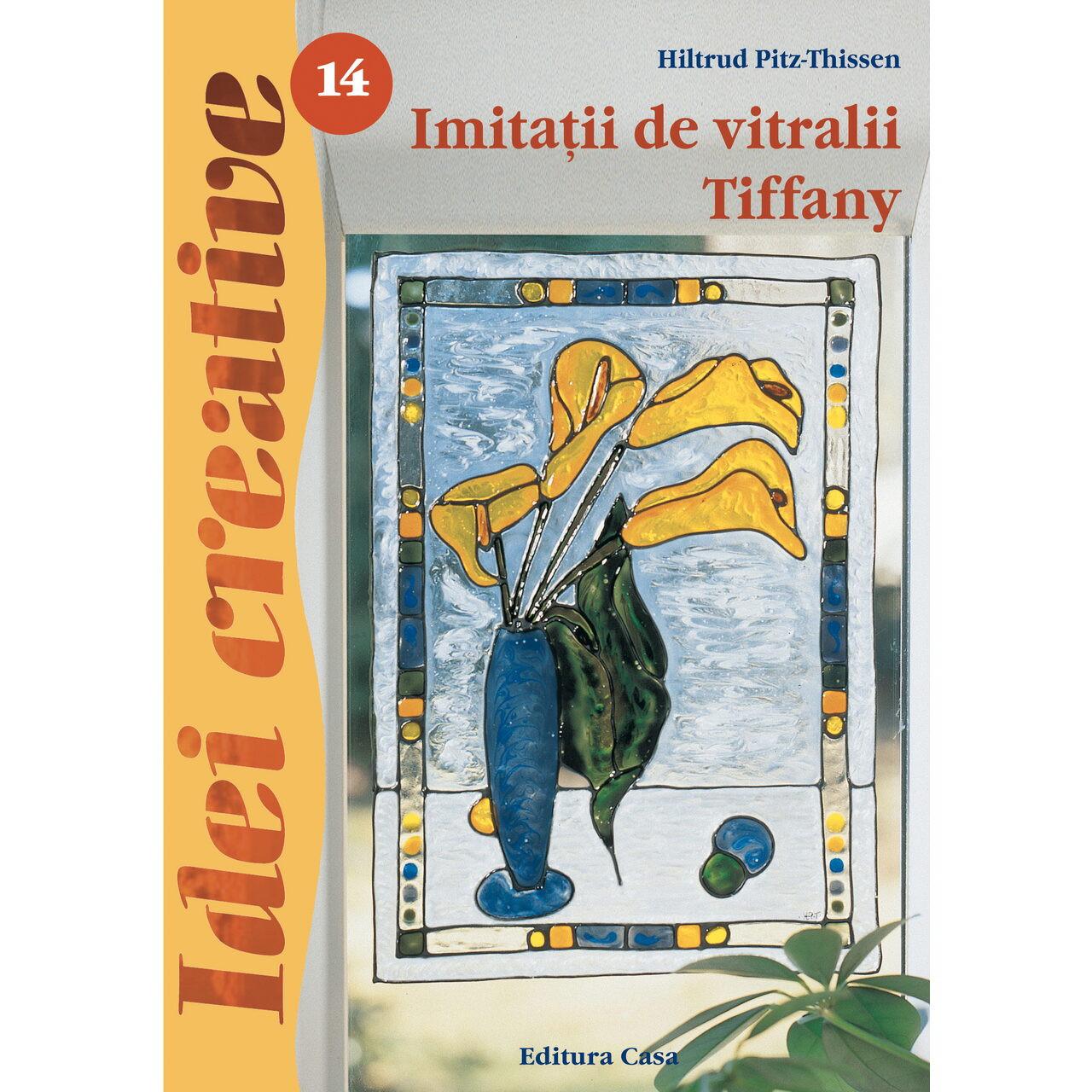 Imitatii de vitralii Tiffany – Idei creative 14