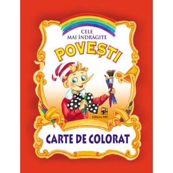 Cele mai îndrăgite povești  Carte de colorat