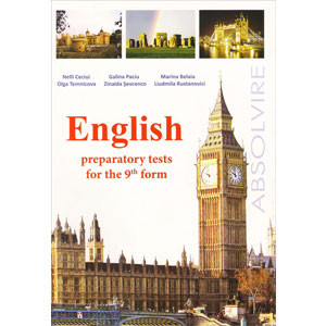 English Preparatory Tests for the 9th Form: (school year 2013 - 2014)