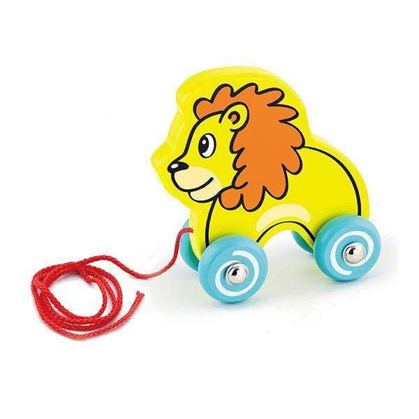 Pull Along Lion
