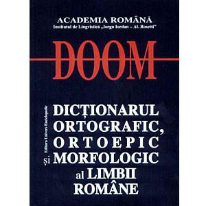 Dicționarul Ortografic, Ortoepic și Morfologic al Limbii Române (DOOM)