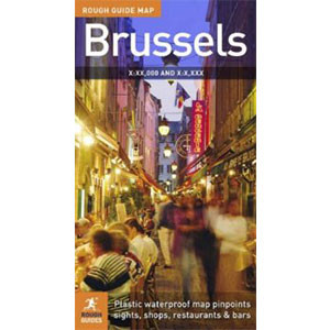 The Rough Guide to Brussels Map 2 (Rough Guide City Maps)