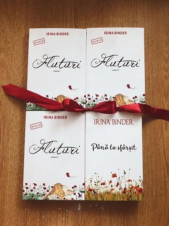 Pachet Promoțional Fluturi Vol. 1,2,3 și 4 (Irina Binder)