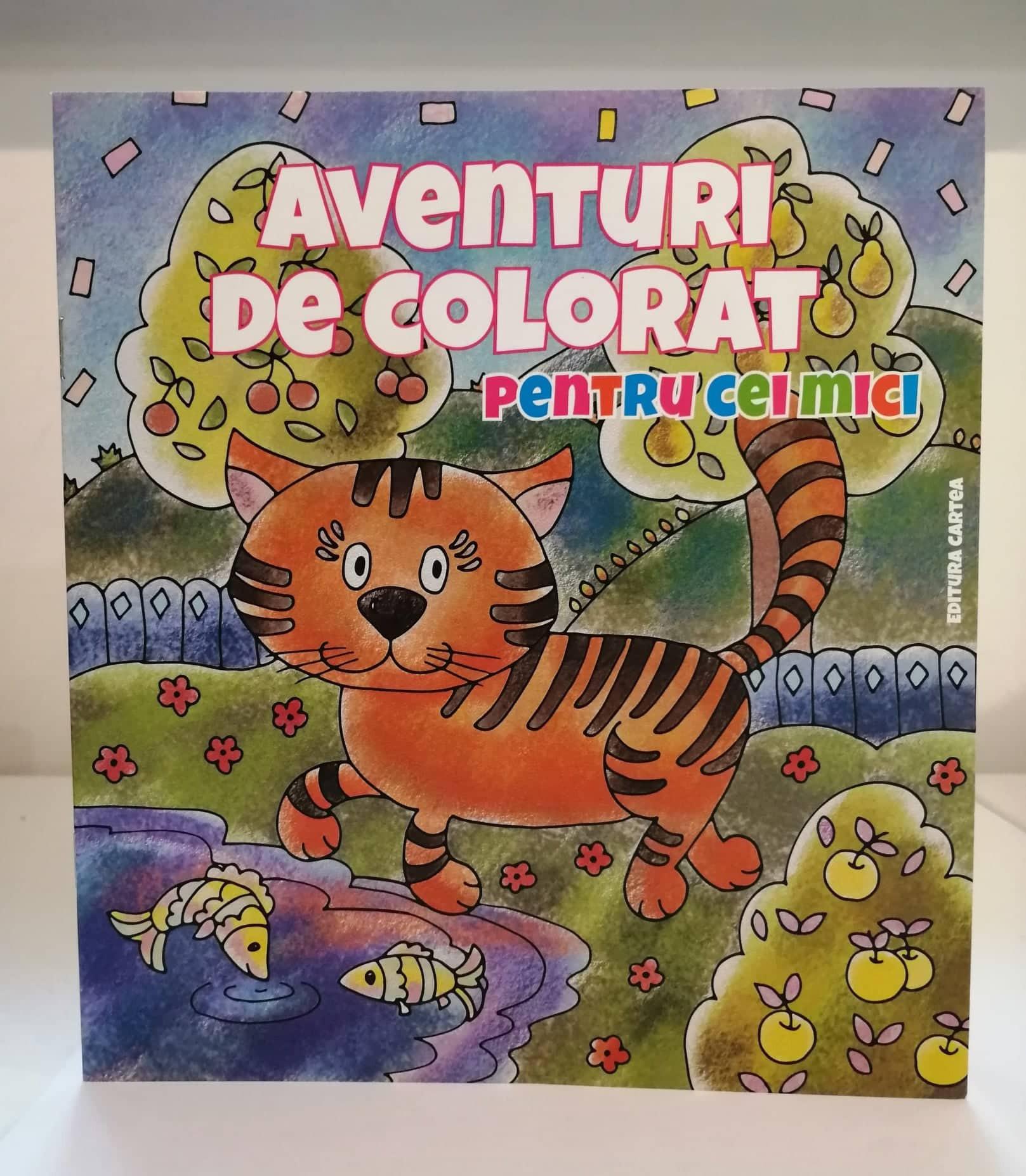 Aventuri de colorat pentru cei mici