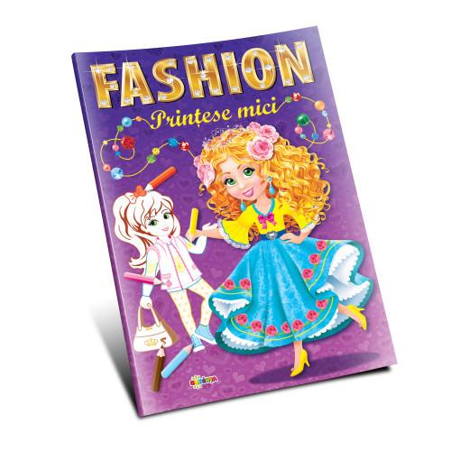 Marea carte de colorat. Prințese mici.