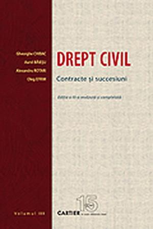 Drept Civil. Contracte și Succesiuni. Volumul III