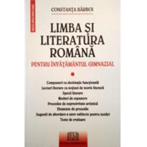 Limba și Literatura Română Pentru Învățamântul Gimnazial