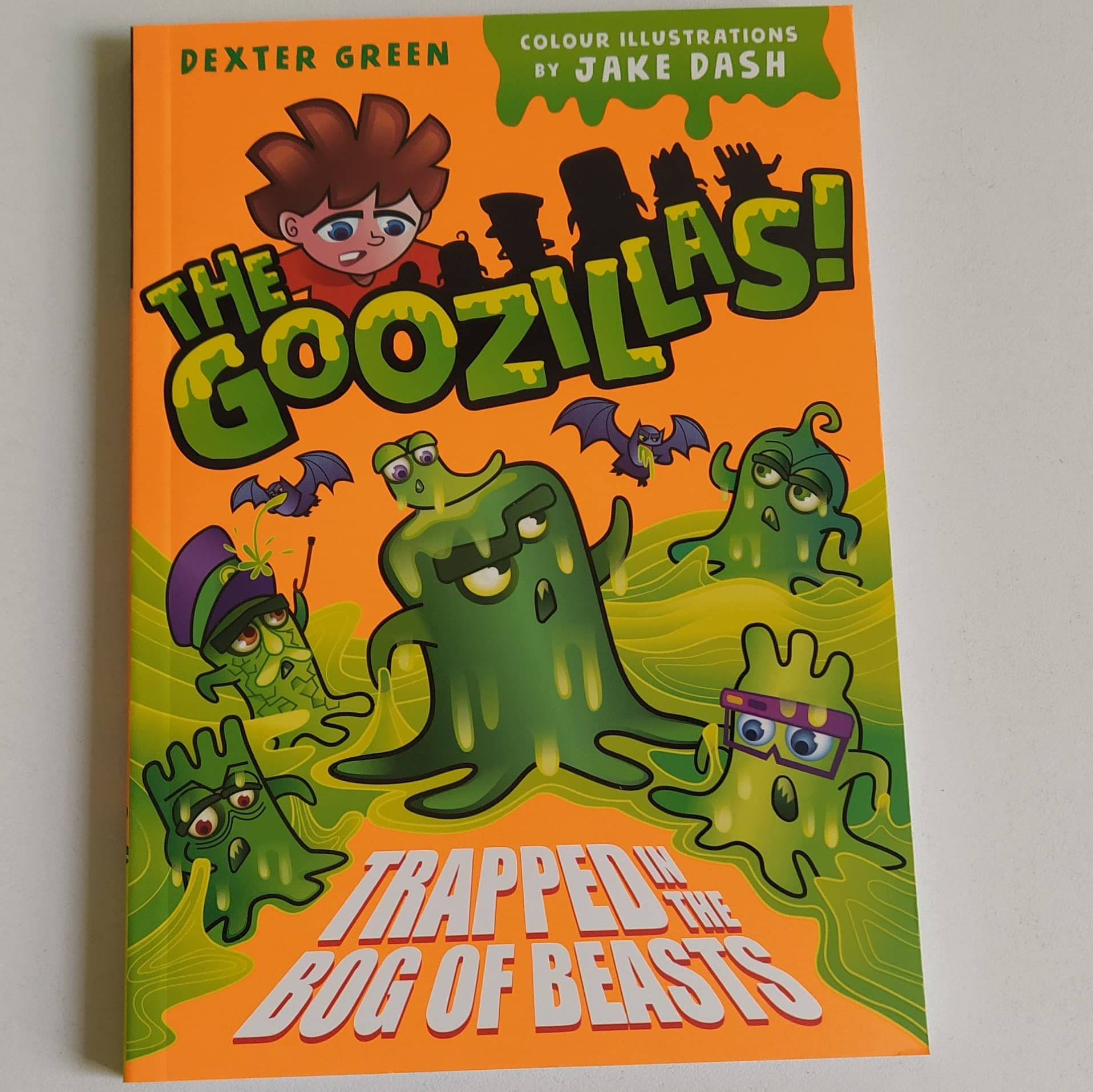 The Goozillas! Trapped in the Bog of Beasts