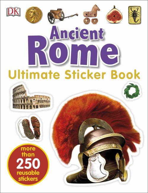 Ancient Rome Ultimate Sticker Book