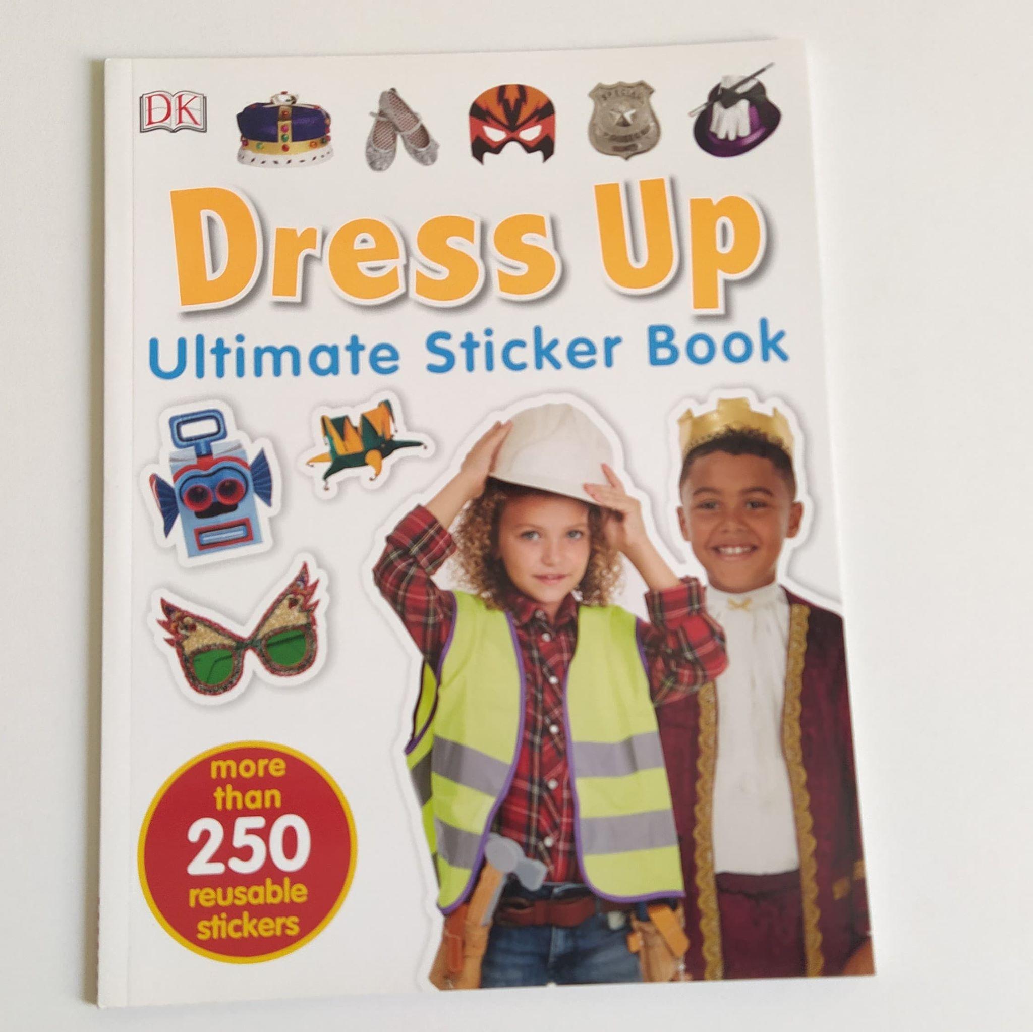 Dress Up Ultimate Sticker