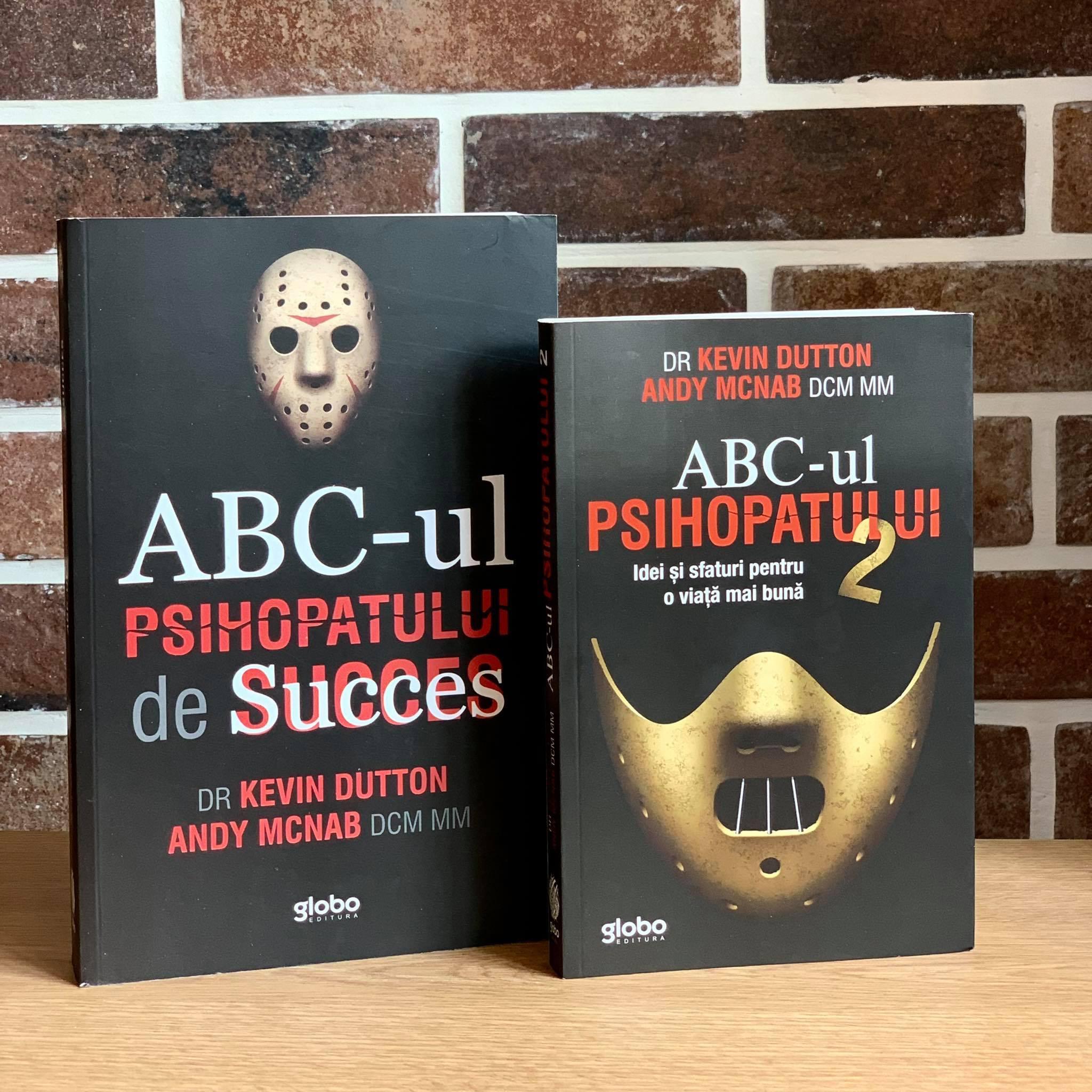 """Pachet Promoțional """"ABC-ul Psihopatului de succes"""" Vol 1+ Vol 2"""