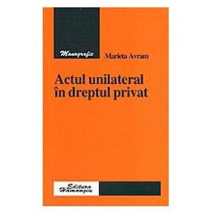 Actul unilateral în dreptul privat