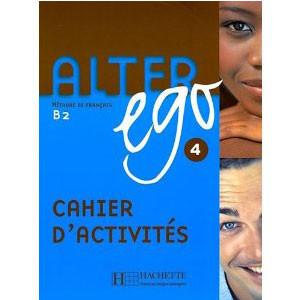 Alter Ego 4 cahier d'activités