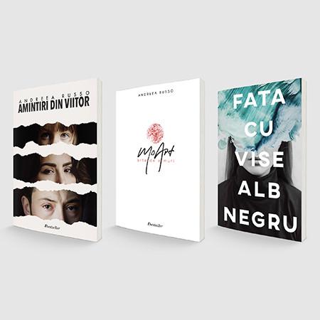 """Pachet Promoțional """"Amintiri din Viitor"""", """"Fata cu vise alb-negru"""" și """"MoArt"""""""