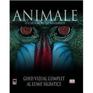Animale. Ghid Vizual Complet al Lumii Sălbatice